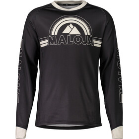 Maloja RuediM. Long Sleeve Freeride Jersey Men moonless